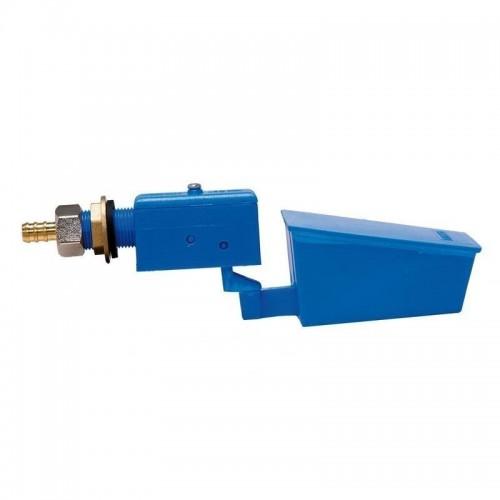 Válvula de Alta Presión Plástico Azul para Bebedero Autom. Acuacán