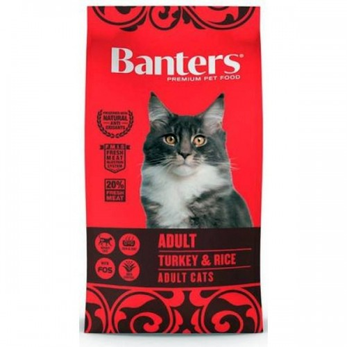 Pienso para Gatos Banters Cat Adult Turkey & Rice
