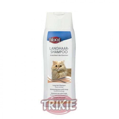 Champú para Gatos Especial Pelo Largo Trixie 250ml
