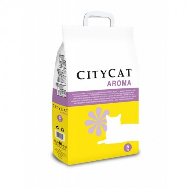 Arena de Gato City Cat Lavanda