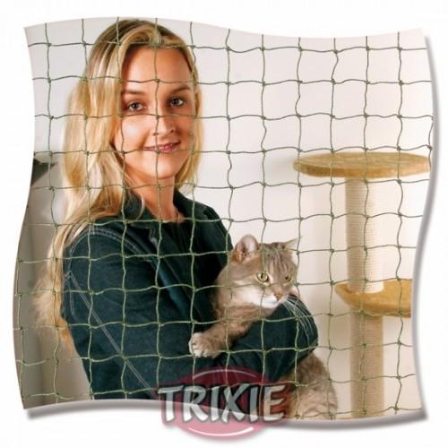 Red para Balcones Protectora para Gatos Reforzada Hilo Alambre 2x1,5m Verde