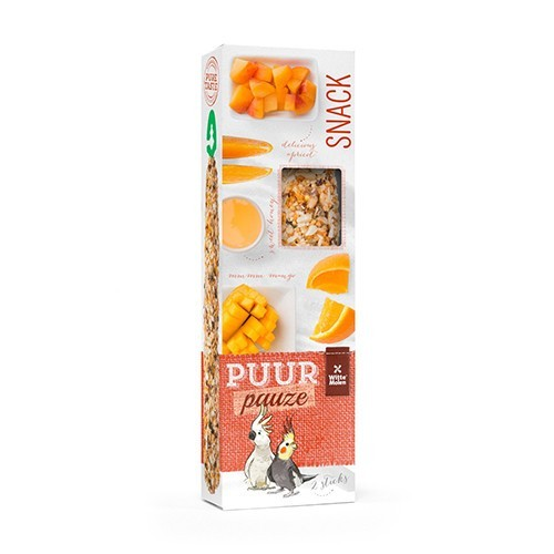 Puur Snacks para Ninfas y Cacatúas 140gr