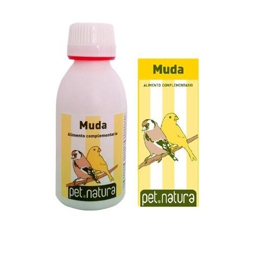 Vitaminas para Aves Muda Pet Natura 25ml