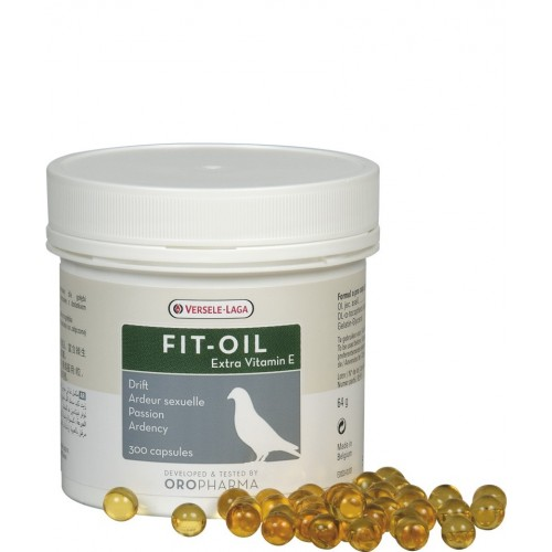 Aceite de Bacalao para Aves Fit Oil 300 cápsulas