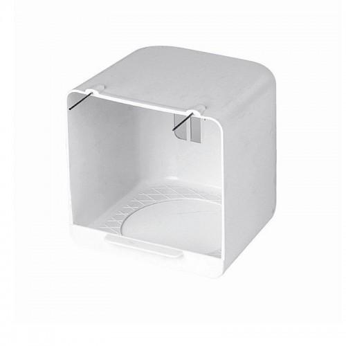 Portanidos para Canarios Exterior Plástico 12,5x11x12,5cm
