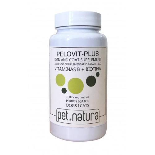 Complejo Vitamínico Pelovit con Biotina para Perros y Gatos 100cp