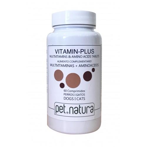 Complemento alimenticio para Perros y Gatos Vitamin Plus 60cp