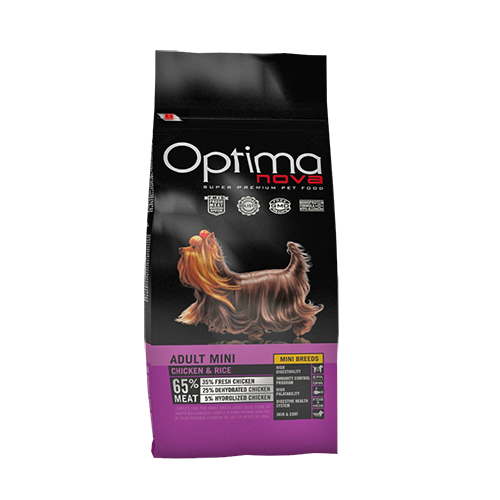 Pienso para Perros Optima Nova Adult Mini Chicken & Rice