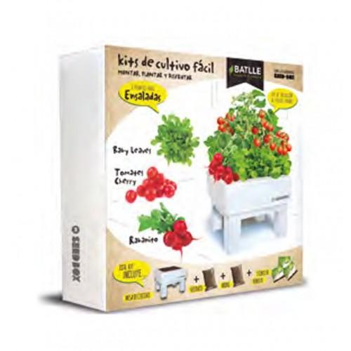 Seed Box 30x30 Ensaladas Batlle