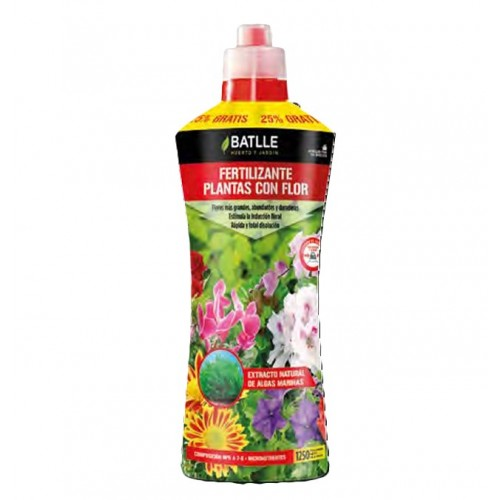 Fertilizante Plantas con Flor - 400ml