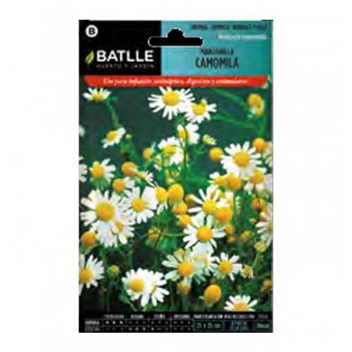 Semillas de Manzanilla - Camomila Batlle