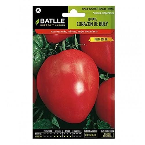 Semillas de Tomate Corazón de Buey Batlle