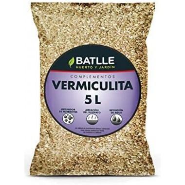 Sustrato Vermiculita Batlle 5L