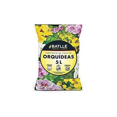 Sustrato Orquídeas Batlle 5L