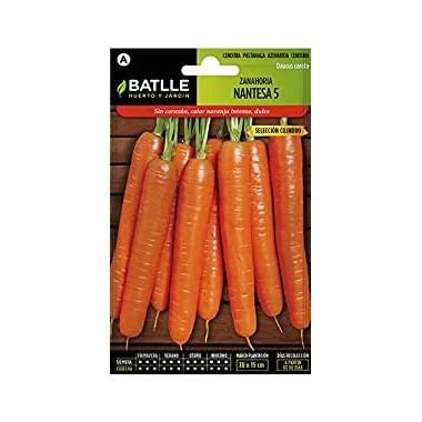 Semillas Zanahoria Nantesa...