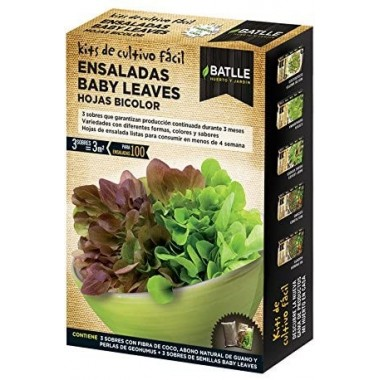 KF- Ensaladas Baby Leaves...