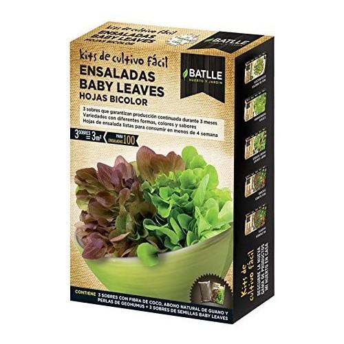 KF- Ensaladas Baby Leaves Bicolor Batlle