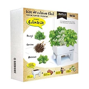 Seed Box 30x30 Culinarias...