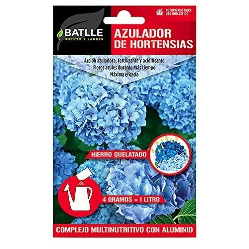 Azulador de Hortensias Batlle Sobre para 5L