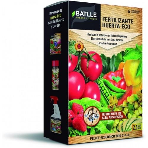 Fertilizante Huerta Eco Pellet Batlle 2,5 Kg