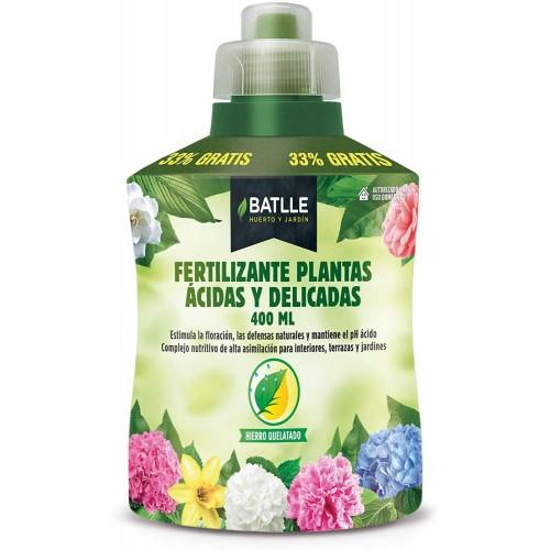 Fertilizante Plantas Acidas Botella Batlle 400ml