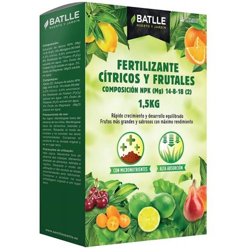 Fertilizante Cítricos y Frutales Batlle 1,5 Kg
