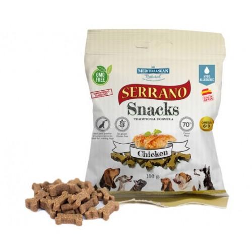 Snacks Mediterranean Serrano Pollo 100gr