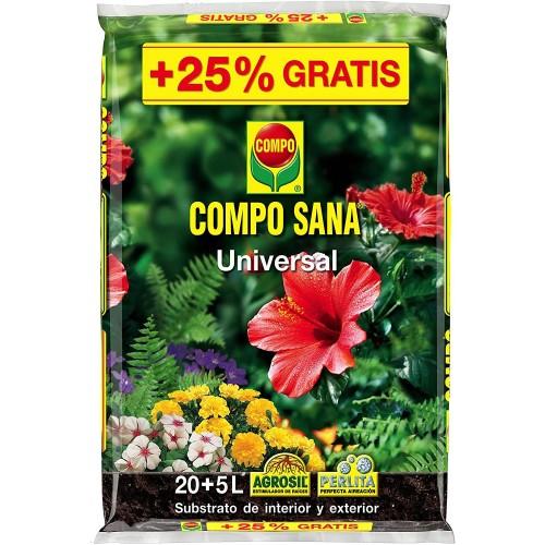 Sustrato Compo Sana Universal 20+5L