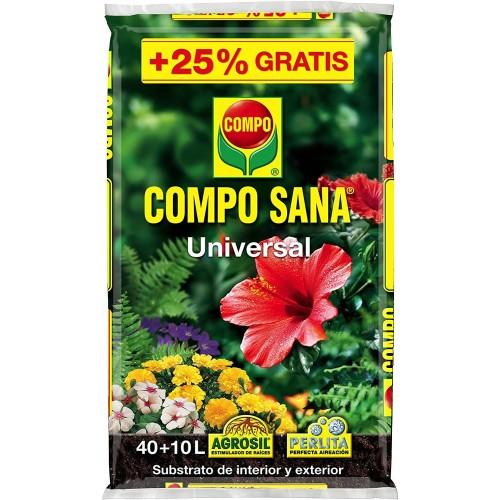 Sustrato Compo Sana Univesal 40+10L