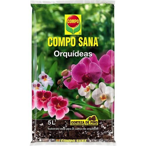 Sustrato Compo Sana Orquídeas 5L
