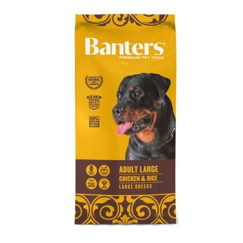 Pienso para Perros Banters Adult Large Chicken & Rice 15kg