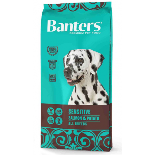 Pienso para Perros Banters Adult Sensitive Salmon & Potato