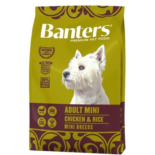 Pienso para Perros Banters Adult Mini Chicken & Rice