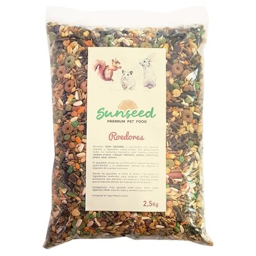 Alimento para Roedores Sunseed 2,5 Kg