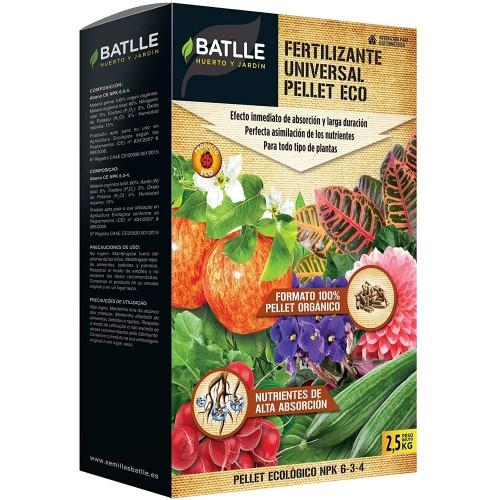 Fertilizante Universal Pellet Eco Batlle 2,5 Kg