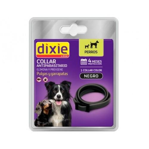 Dixie Collar Negro Antiparasitario Perros