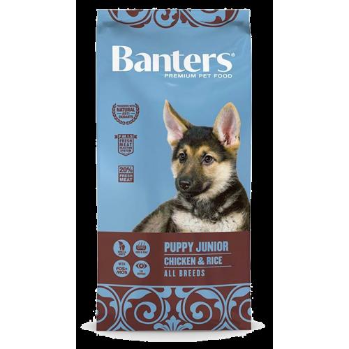 Pienso para Cachorros Banters Puppy Junior Chicken & Rice - 15kg