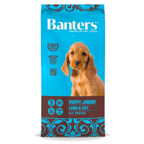 Pienso para Cachorros Banters Puppy Junior Lamb & Rice - 15kg