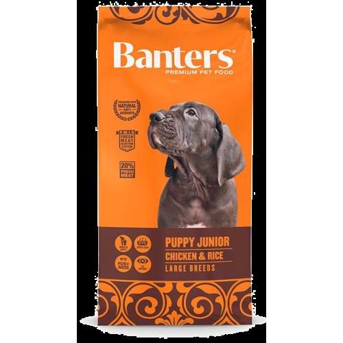Pienso para Cachorros Banters Puppy Junior Large Breed - 3kg