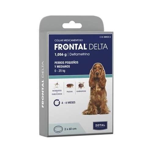 Frontal Delta Collar Duo 60cm. Perros 0-25kg
