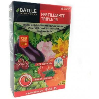 Fertilizante Triple 15 Caja...