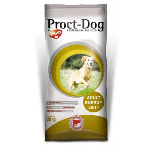 Pienso para Perros Proct-Dog Adult Energy 28/14. 20kg