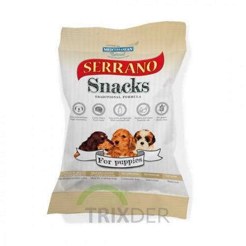Snacks Mediterranean Serrano para Cachorros 100gr