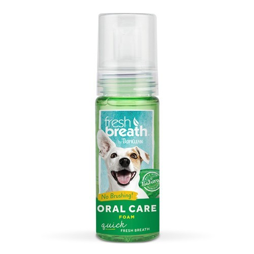 Espuma de Higiene Bucal para Perros Sabor Menta 133ml