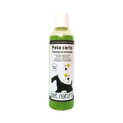 Champú para Perros Pelo Corto Proteínico Pet Natura 250ml