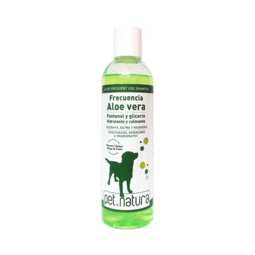 Champú para Perros y Gatos Aloe Vera Frecuencia Pet Natura 250ml