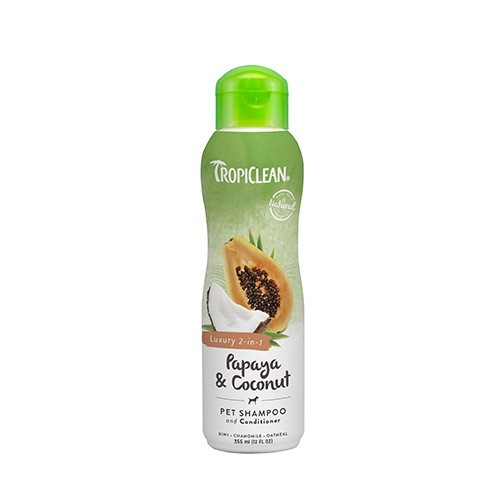 Champú para Perros y Gatos Natural Espumoso Papaya & Coconut  355ml