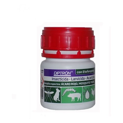 Diptron Insecticida Larvicida Acaricida Concentrado Emulsionable 100ml