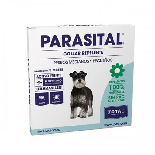Parasital Collar Perros Medianos y Pequeños 100% Natural 58cm