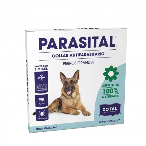 Parasital Collar Perros Grandes 100% Natural 75cm